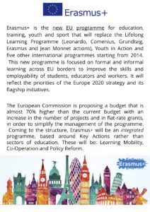Start Up Europe, Erasmus+, 1-8 december 2018