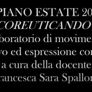 Piano Estate 2021 - Coreuticando